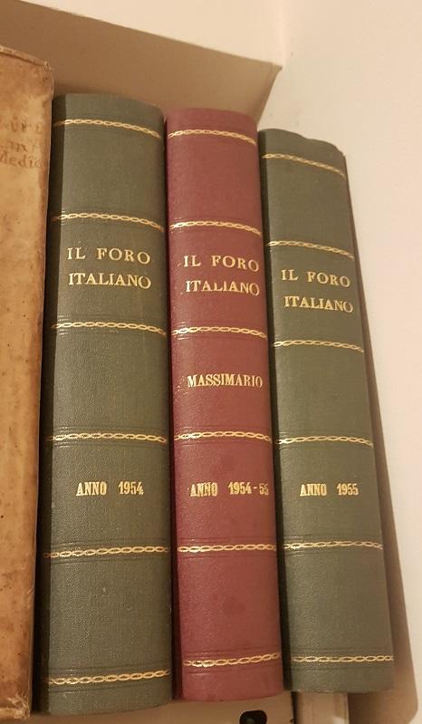 IL MASSIMARIO DEL FORO ITALIANO