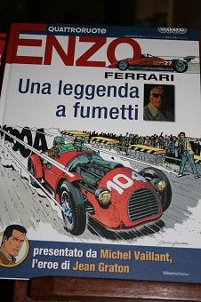 Enzo Ferrari. Una leggenda a fumetti.