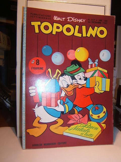TOPOLINO N? 317 - 24 DICEMBRE 1961